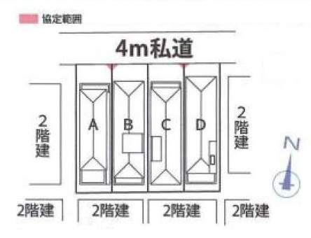 【価格↓小平市たかの台 新築戸建分譲全4棟 駅歩2分】間取図面